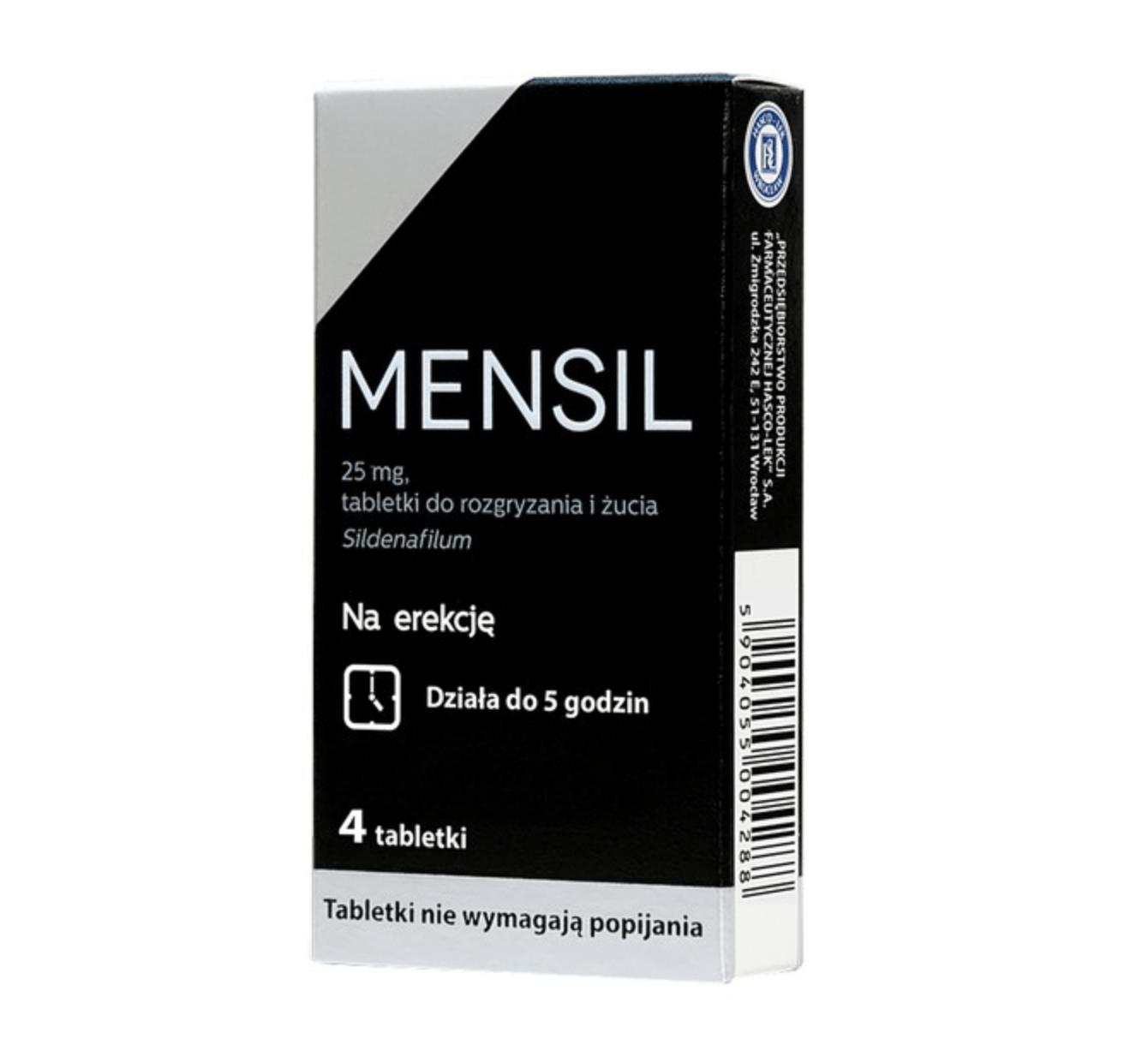 Tabletki Mensil opinie