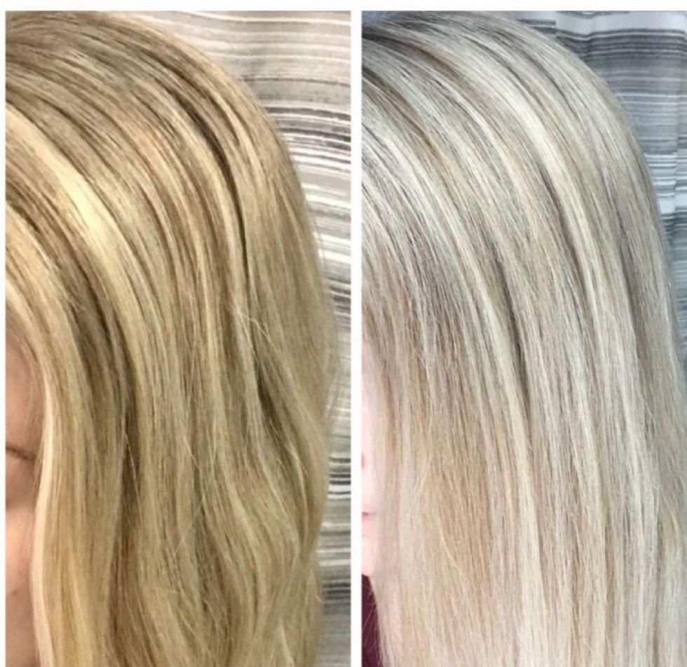 Przed i po kuracji z fanola no yellow, czyli moje efekty stosowania szamponu