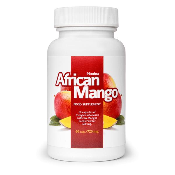African Mango - Preparat przyśpieszający odchudzanie