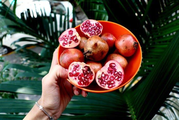 Owoc granatu: Właściwości na odchudzanie