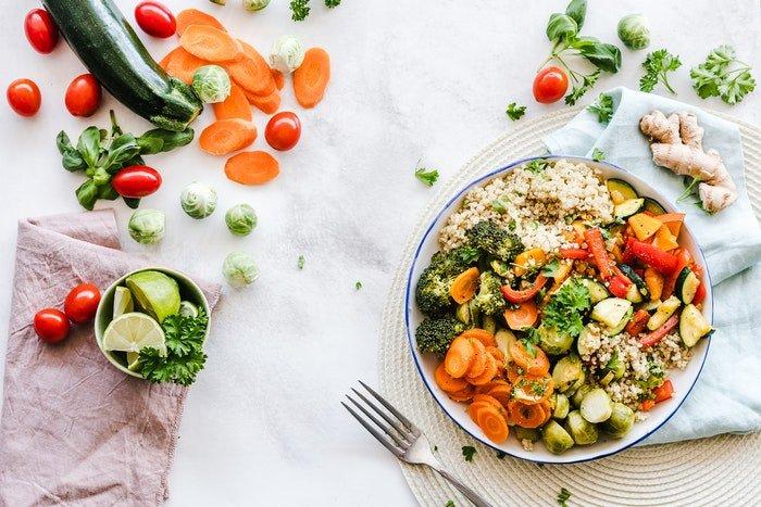 niskokaloryczne warzywa