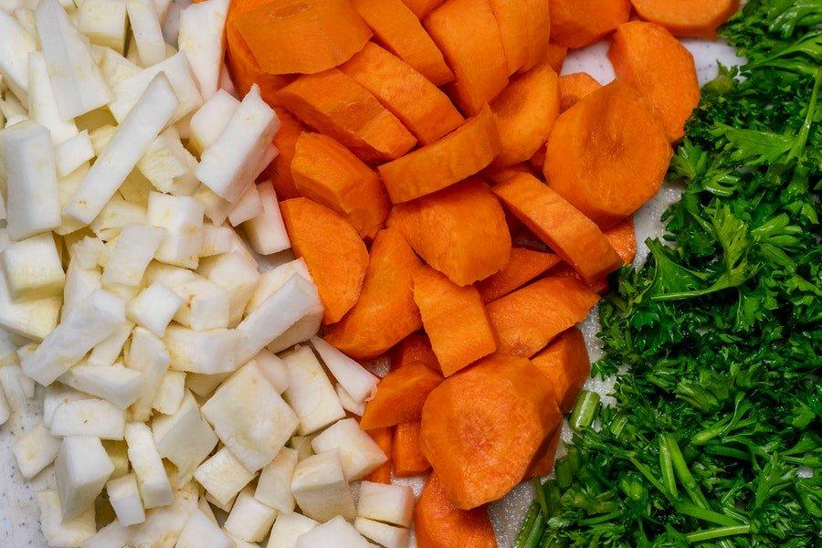 seler warzywa niskoweglowodanowe