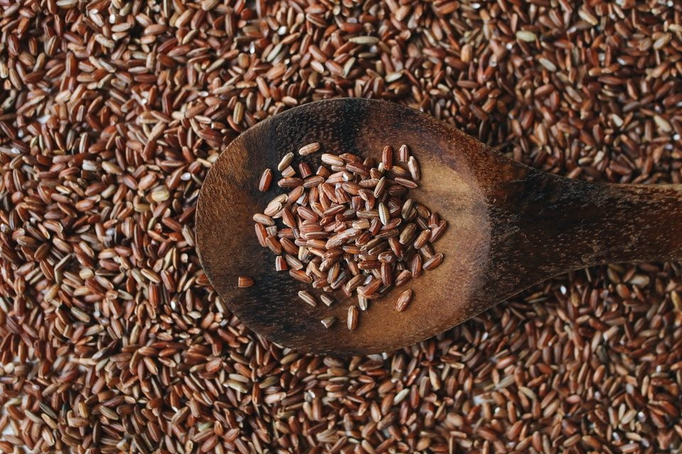 brazowy ryz produkty spalajace tluszcz
