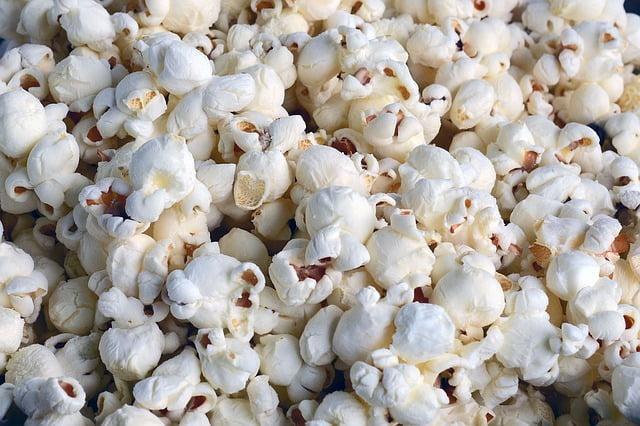 popcorn bogaty w blonnik
